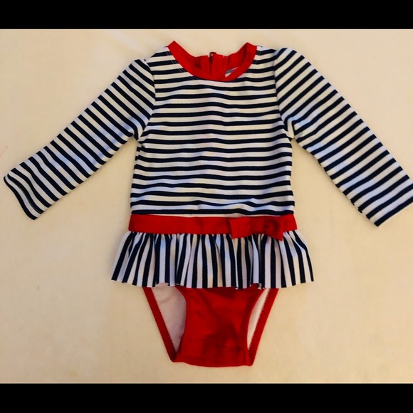 c97b2569d8e3 Cat & Jack Swim | One Piece 12m Cat Jack Long Sleeved Suit | Poshmark